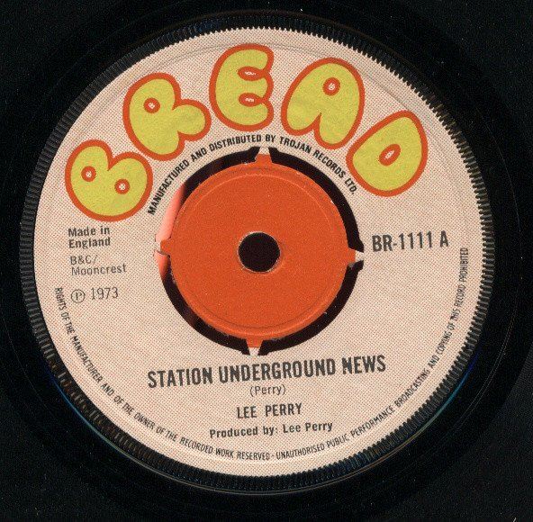 Lee Perry Meets Bullwackie - Station Underground News / Better Days