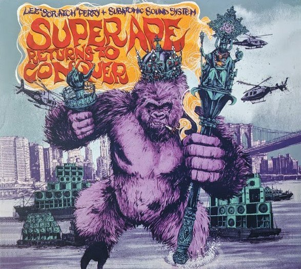 Lee Perry Meets Bullwackie - Super Ape Returns To Conquer