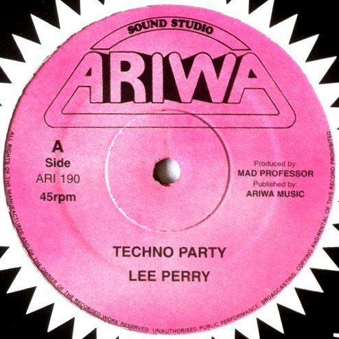 Lee Perry Meets Bullwackie - Techno Party / Black Buster