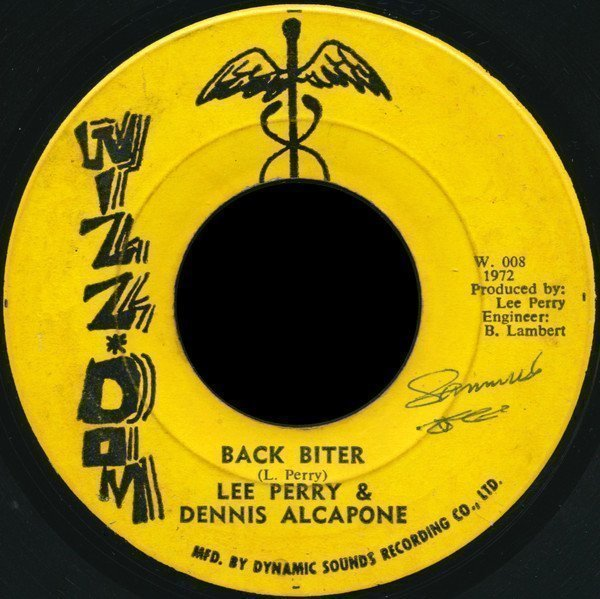 Lee Scratch Perry - Back Biter / Back Biter (Version)