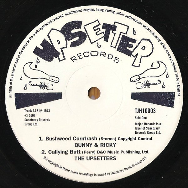 Lee Scratch Perry - Bushweed Corntrash / Callying Butt / Stay Dread