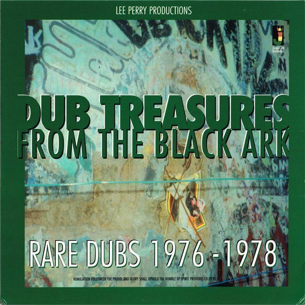 Lee Scratch Perry - Dub Treasures From The Black Ark - Rare Dubs 1976-1978