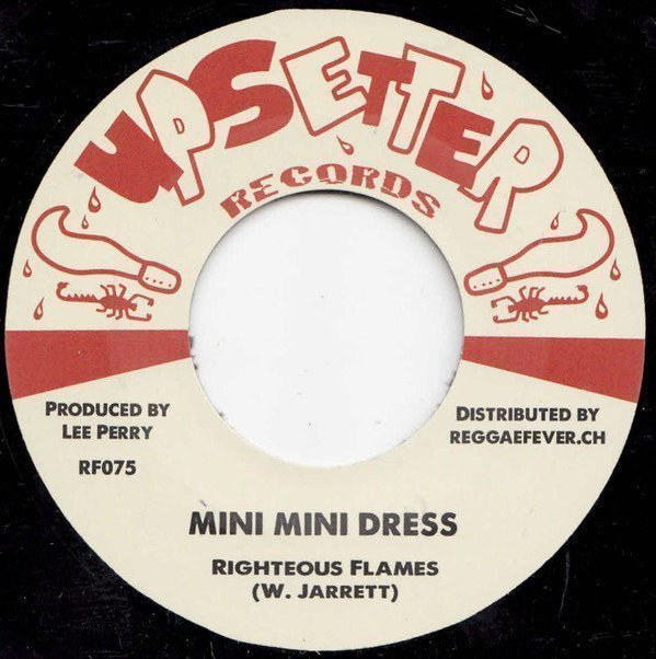 Lee Scratch Perry - Mini Mini Dress / Not Taking Any Sentence