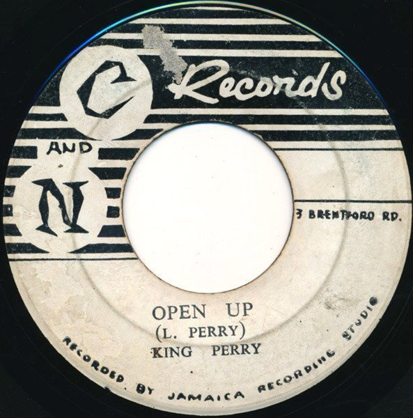 Lee Scratch Perry - Open Up / Woolverton Mountain (Twin Double)