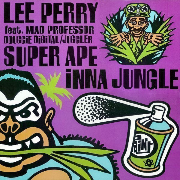Lee Scratch Perry - Super Ape Inna Jungle