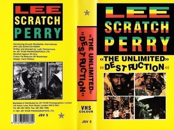 Lee Scratch Perry - The Unlimited Destruction