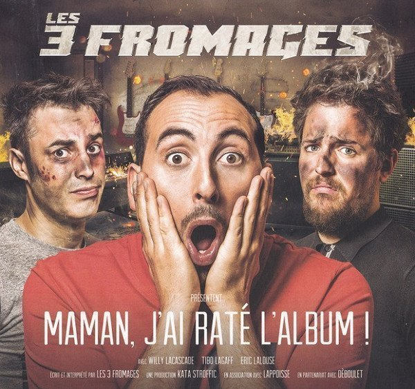 Les 3 Fromages - Maman, J