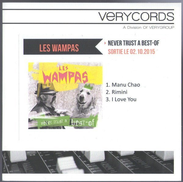Les Wampas - Never Trust A Best-Of