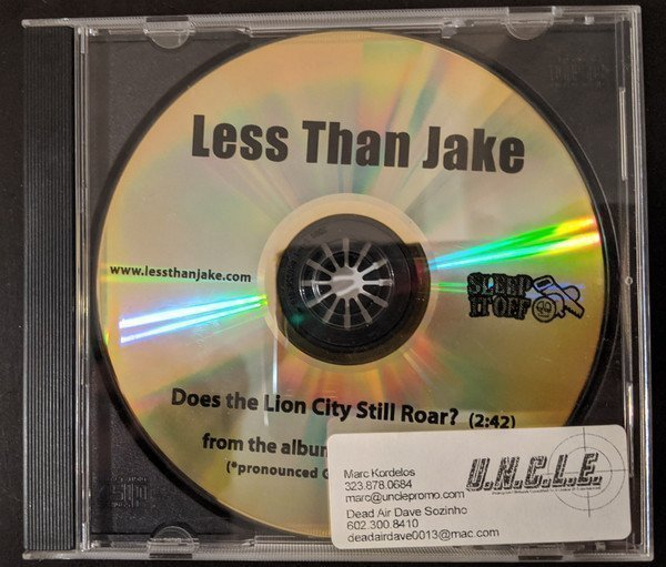 Less Than Jake - Does The Lion City Still Roar?