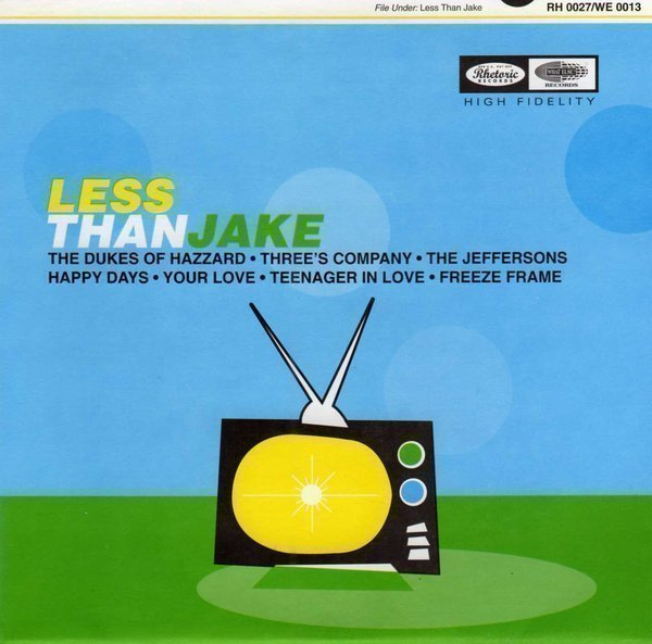 Less Than Jake - G-Man Training Target / Crash Course In Being An Asshole