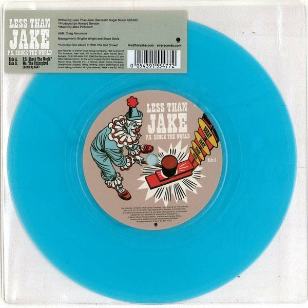 Less Than Jake - P.S. Shock The World (1)
