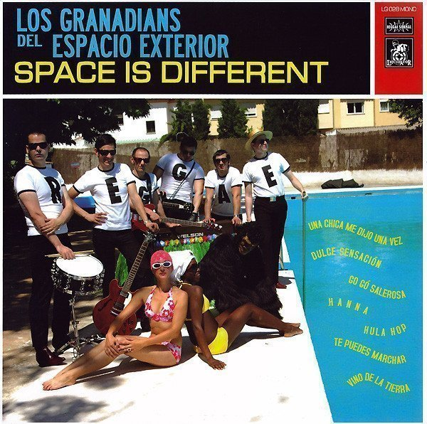 Los Granadians - Space Is Different