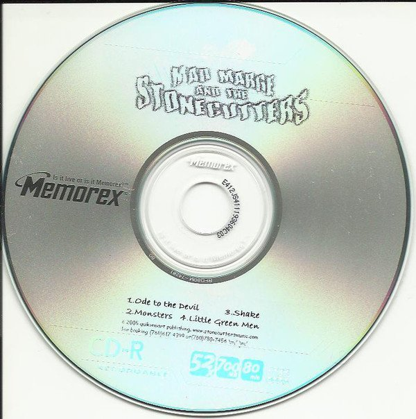 Mad Marge And The Stonecutters - Demo CD - Ode To The Devil