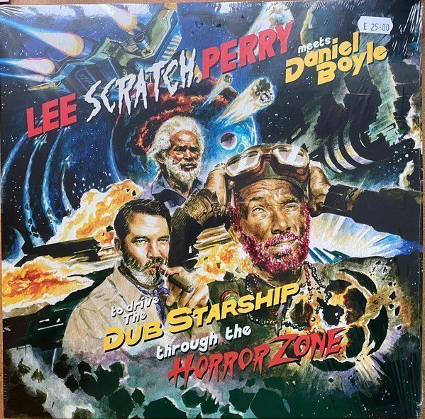 Mad Professor  Lee Perry - To Drive The Dub Starship Through The Horror Zone