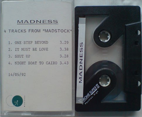 "Madness - 4 Tracks From ""Madstock"""