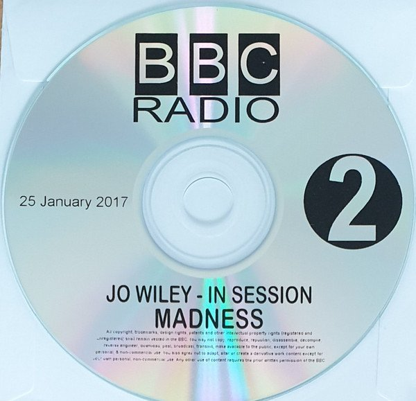 Madness - Jo Wiley - In Session