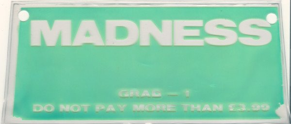 Madness - Singles Pack