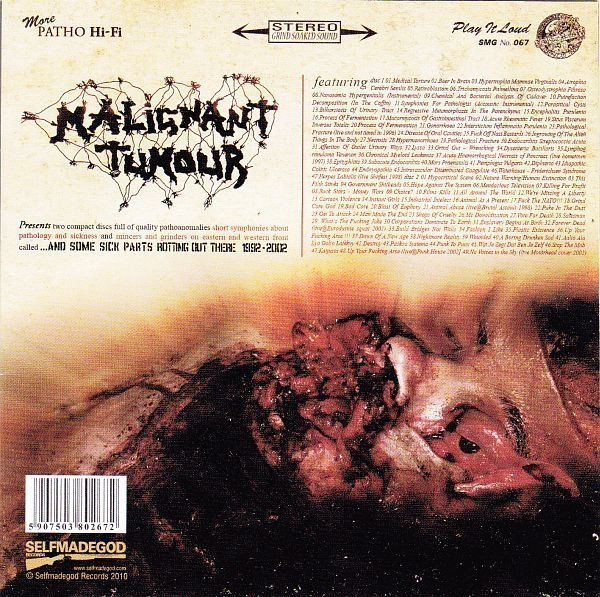 Malignant Tumour - ...And Some Sick Parts Rotting Out There 1992 - 2002