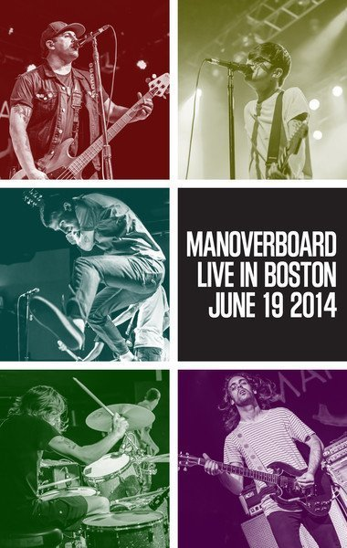 Man Overboard - Live In Boston June 19 2014