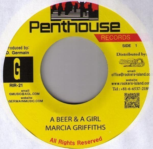 Marcia Griffiths - A Beer & A Girl / Tempted To Touch