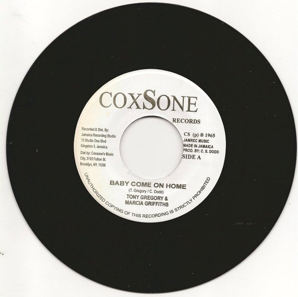 Marcia Griffiths - Baby Come On Home / Get Out My Life