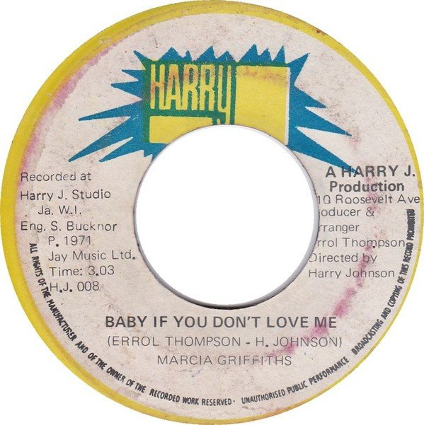 Marcia Griffiths - Baby If You Don