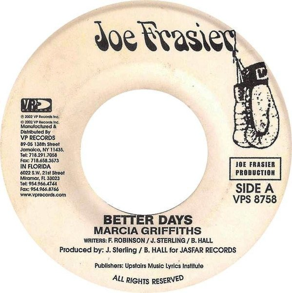 Marcia Griffiths - Better Days / Playa