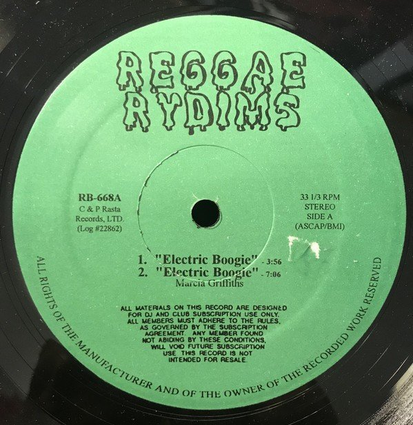 Marcia Griffiths - Electric Boogie / Hot, Hot, Hot
