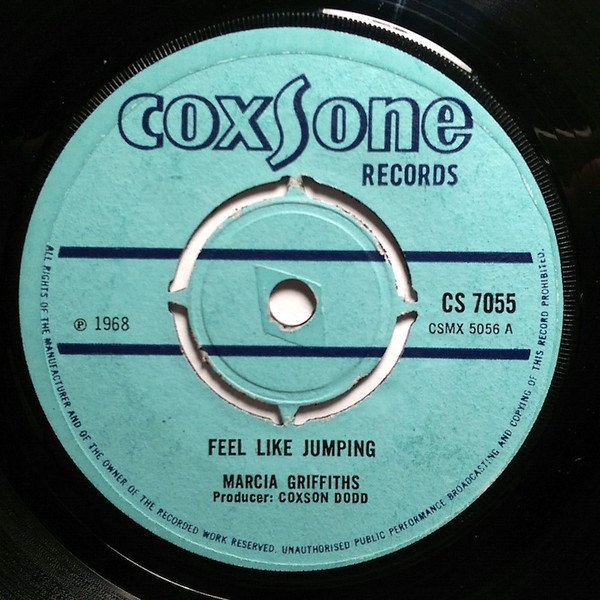 Marcia Griffiths - Feel Like Jumping / Thundering Vibrations