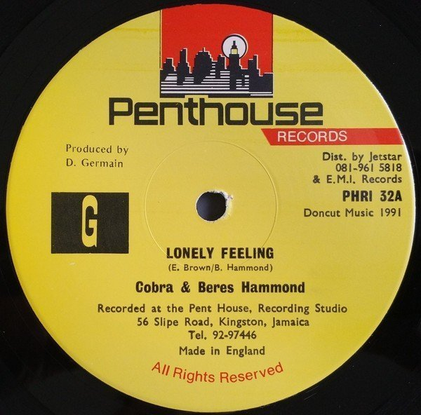 Marcia Griffiths - Feeling Lonely / Fire Burning