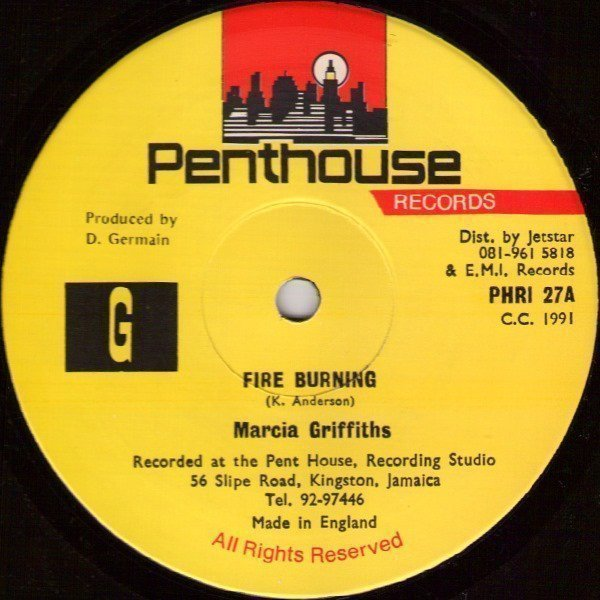 Marcia Griffiths - Fire Burning