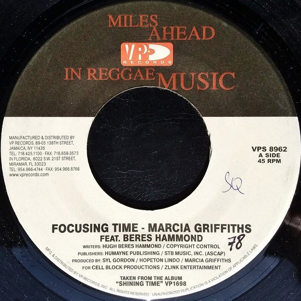 Marcia Griffiths - Focusing Time