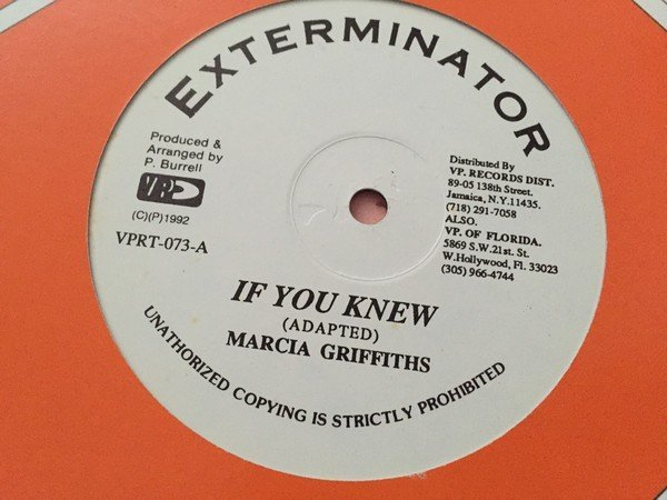 Marcia Griffiths - If You Knew / If You Knew