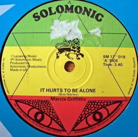 Marcia Griffiths - It Hurts To Be Alone / Solomonic Serenade