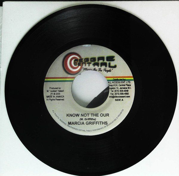 Marcia Griffiths - Know Not The Our / You Alone Jah