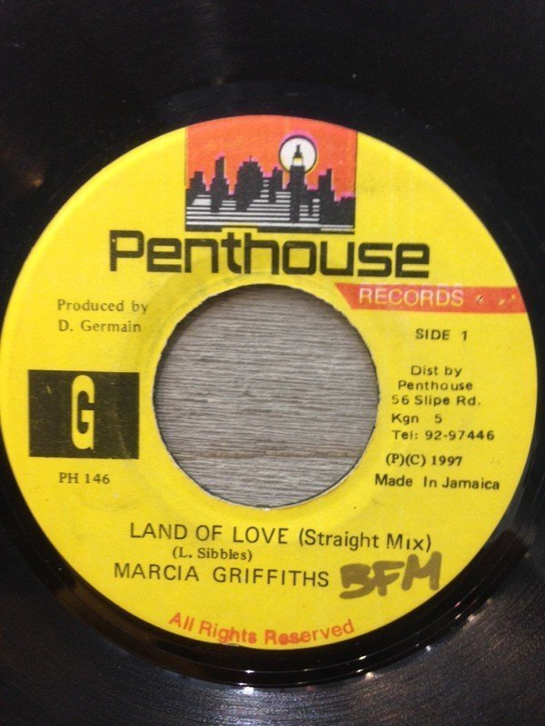 Marcia Griffiths - Land Of Love (Straight Mix)