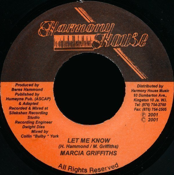 Marcia Griffiths - Let Me Know