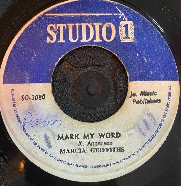 Marcia Griffiths - Mark My Word / Melody Life