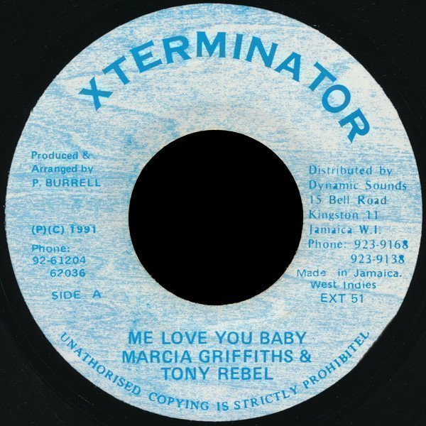 Marcia Griffiths - Me Love You Baby
