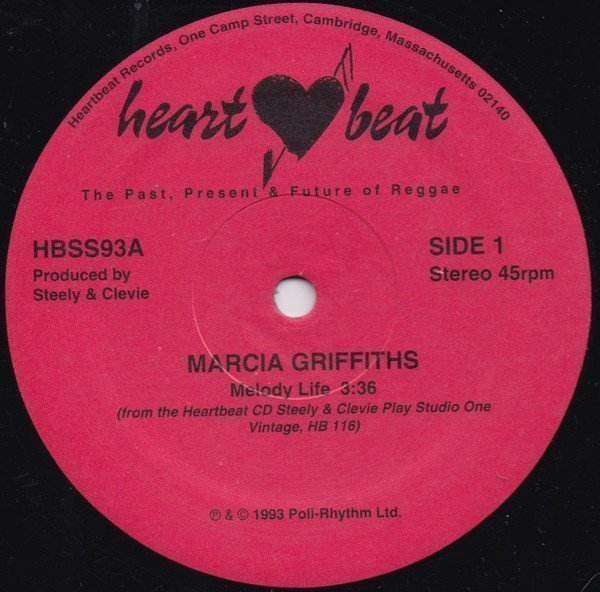 Marcia Griffiths - Melody Life / Choice Of Color