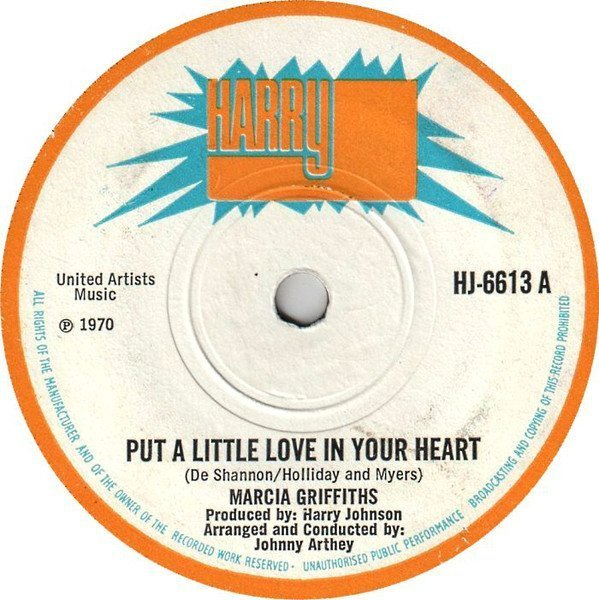 Marcia Griffiths - Put A Little Love In Your Heart / Bah Oop Ah