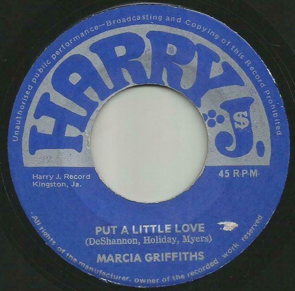 Marcia Griffiths - Put A Little Love / Shining
