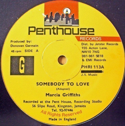 Marcia Griffiths - Somebody To Love