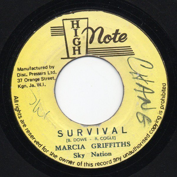 Marcia Griffiths - Survival / Tell Me Now