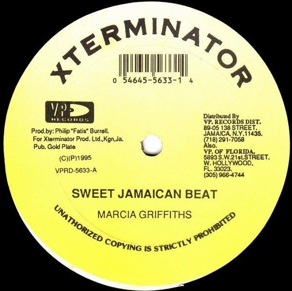 Marcia Griffiths - Sweet Jamaican Beat / Nah Move