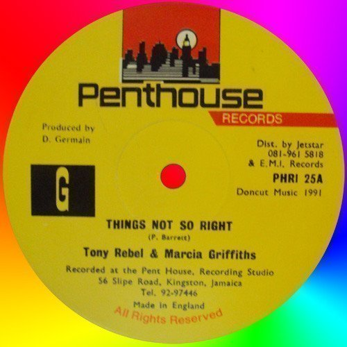 Marcia Griffiths - Things Not So Right