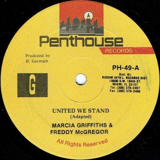 Marcia Griffiths - United We Stand / Blue Skies