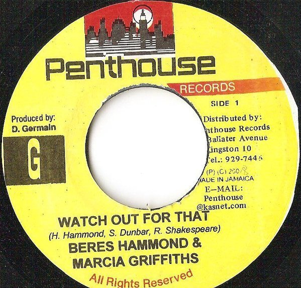 Marcia Griffiths - Watch Out For That