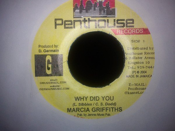Marcia Griffiths - Why Did You / Wish You Were Mine