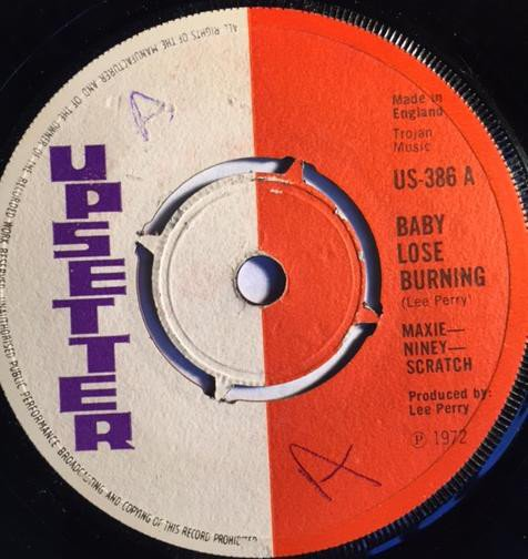 Max Romeo - Babylose Burning / To Be A Lover